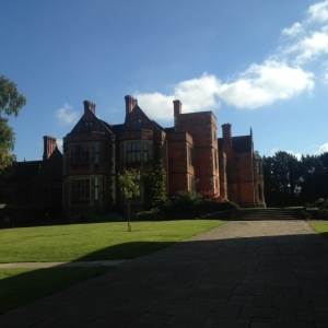 This is Heslington Hall. The oldest building on the University of York's campus.
