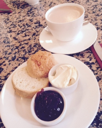 Christmas Eve cream tea at Bennett's