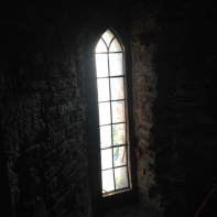 a castle window