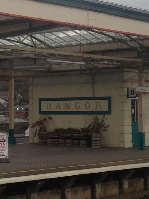 pretty little Bangor Station