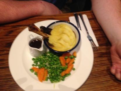 John's lamb shank pie