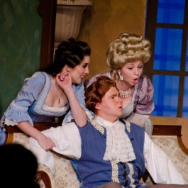Susanna, Figaro, and Countess